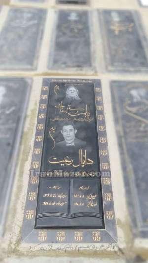 سنگ قبر گرانیت مشکی | گرانیت سیمین سنگ قبر | سنگ قبر مادر فرزند | سنگ قبر جوان فوتبالیست | سنگ قبر طرح کتاب