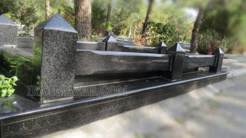 سنگ قبر گرانیت سیمین کد S808
