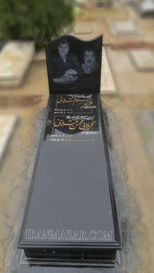 سنگ قبر گرانیت برزیلی کد B207