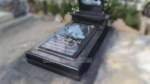 سنگ قبر بچه گرانیت سیمین کد S309