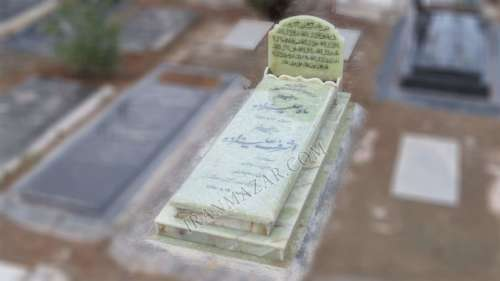 سنگ قبر مرمر سبز خاص کد M411