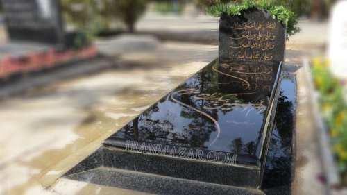 سنگ قبر گرانیت سیمین کد S207
