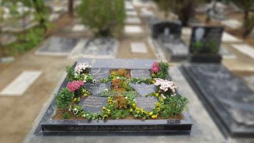 سنگ قبر گرانیت نطنز کد T303