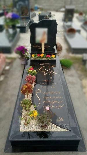 سنگ قبر گرانیت تویسرکان کد U15